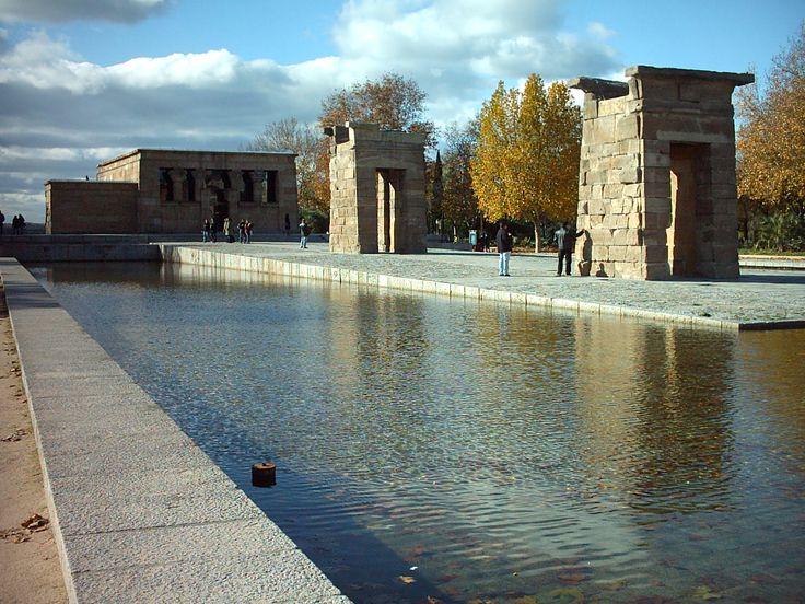 Arquitectura egipcia en Espana El Templo Debod