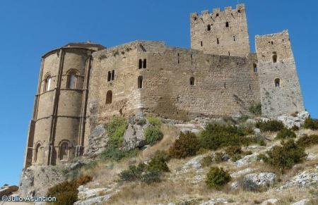 castillo de loarre arquitectura