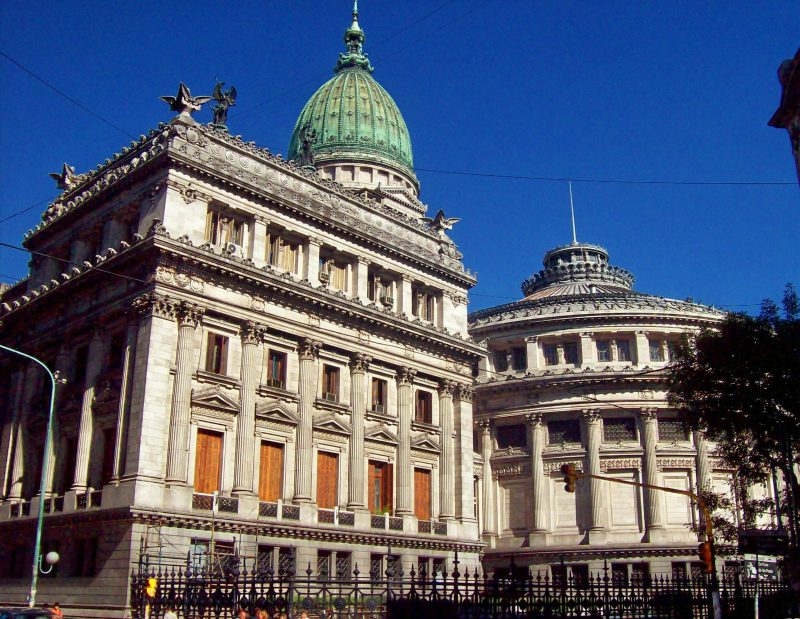 Palacio del congreso de la nación Argentina edificio
