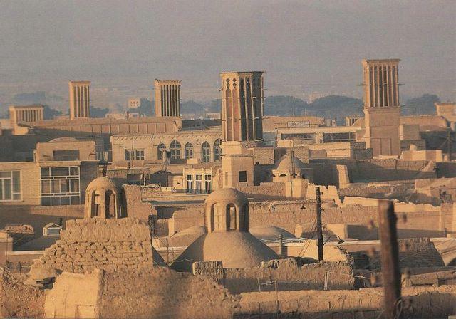 Sistemas pasivos de refrigeracion en la arquitectura irani