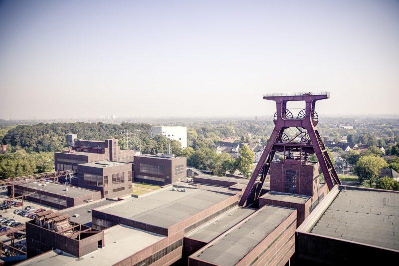 complejo mina de carbon de Zollverein arquitectura