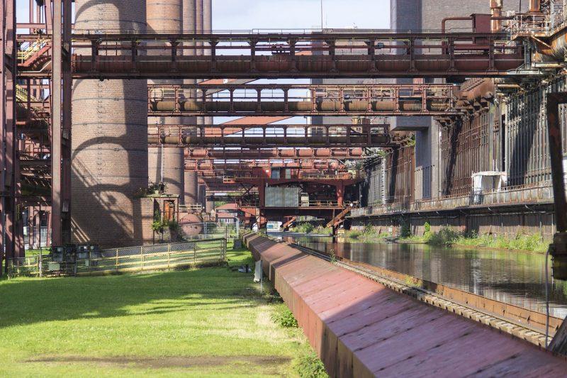 complejo mina de carbon de Zollverein