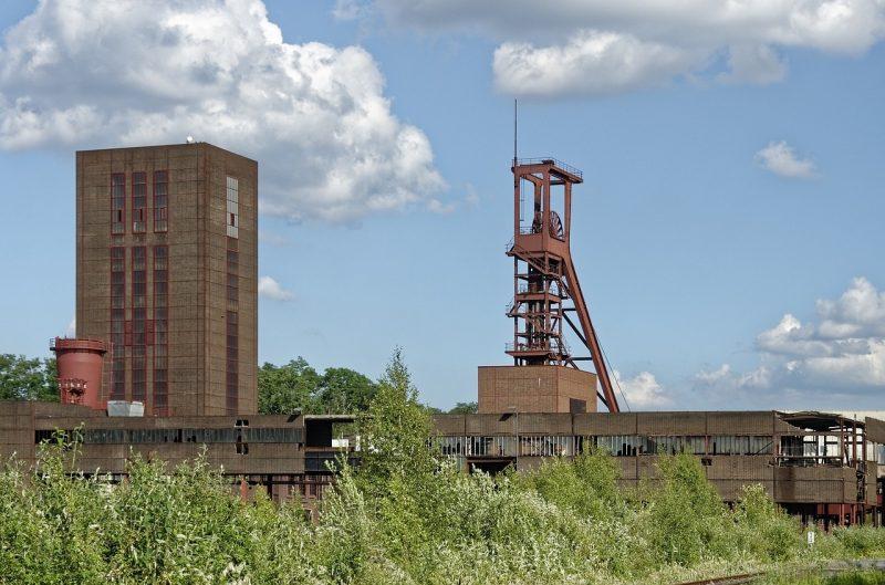 mina de carbon de Zollverein arquitectura